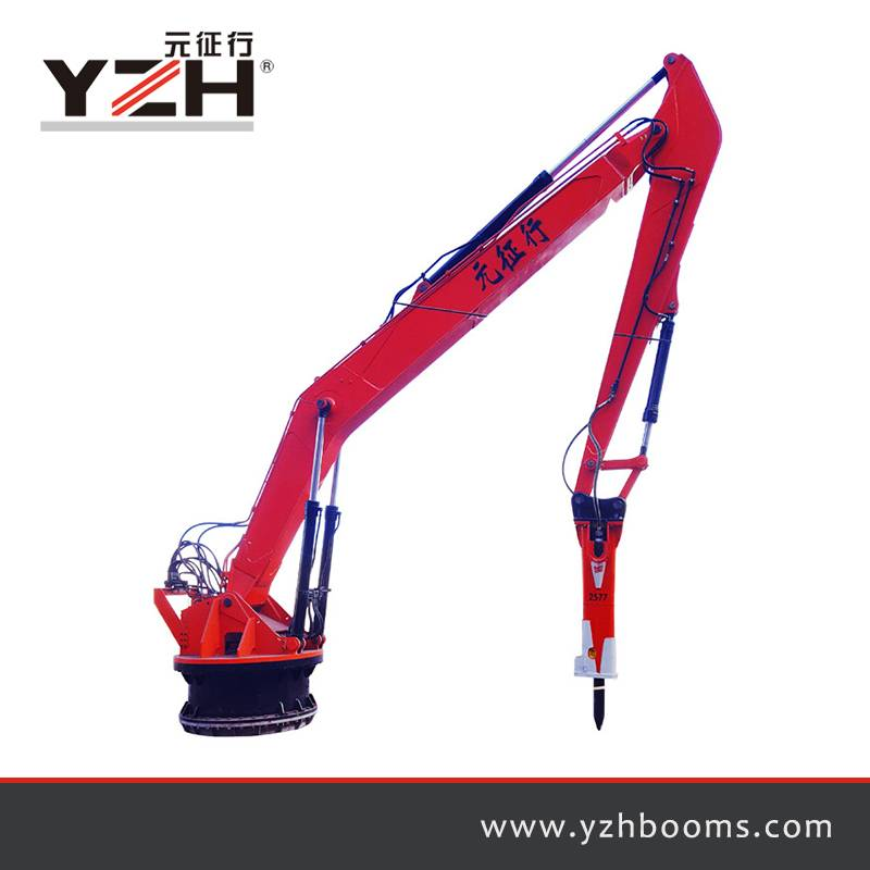 Pedestal Rock Breaker Booms System XL1400R