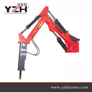 Pedestal Rock Breaker Booms System S550