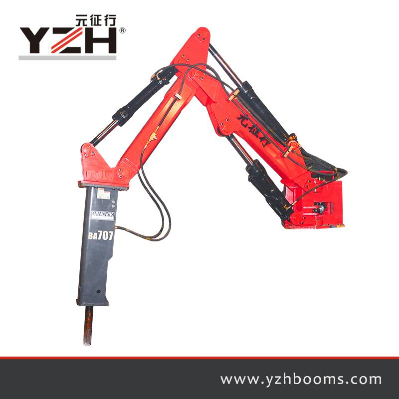 Pedestal Rock Breaker Booms System S550 Featured Image