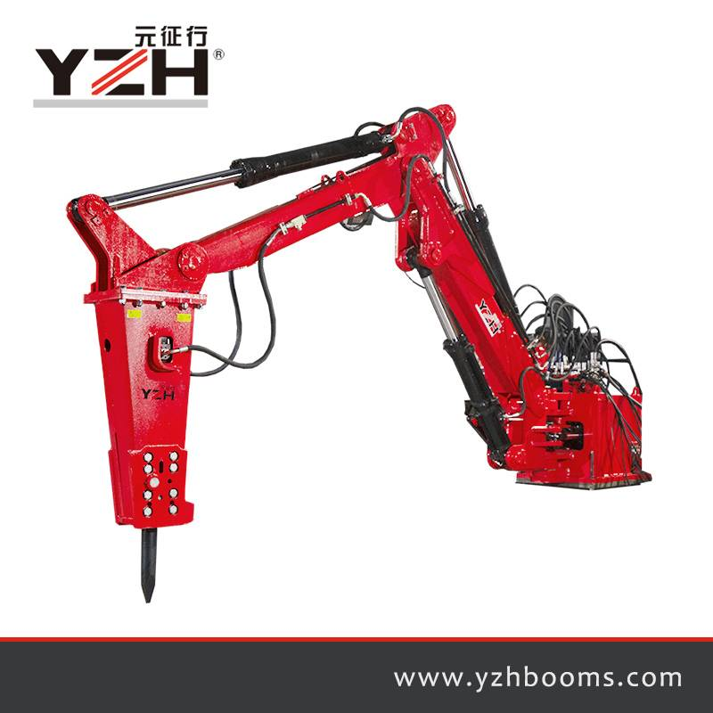 Պատվանդանի Rock Breaker Booms System C500