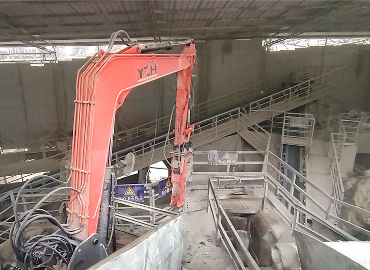 Chongqing Youbang Successfully Installed A YZH Pedestal Boom Rockbreaker System
