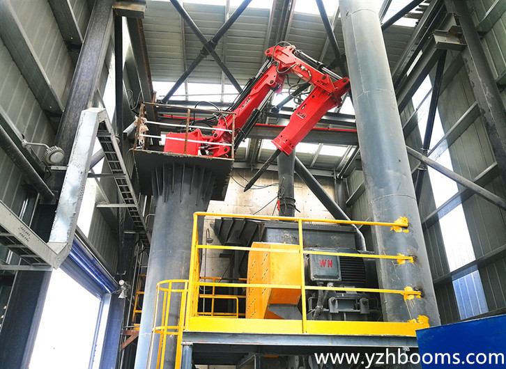 China United Cement Coroperation Successfully Equipped With The First YZH Rockbreaker System In Its Crushing Production Line
