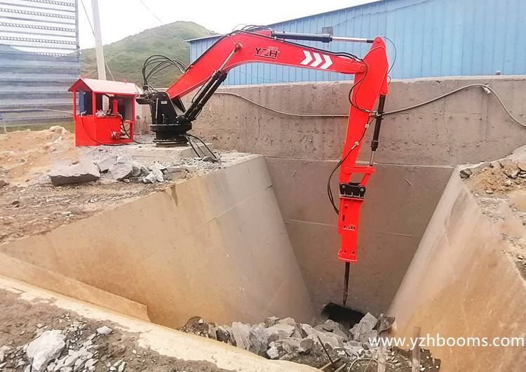 Jinan YZH Successfully Delivered The Customized Pedestal Boom System To Shaanxi Jingxin Iron Mine