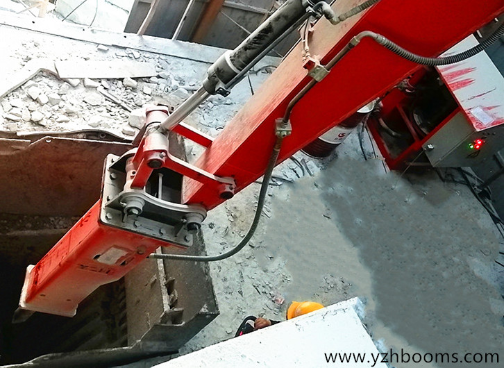 YZH Rockbreaker System Was Successfully Put Into Use In Hubei Province Coal Mining Bureau