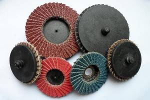 QUICK CHANGE MINI FLAP DISC