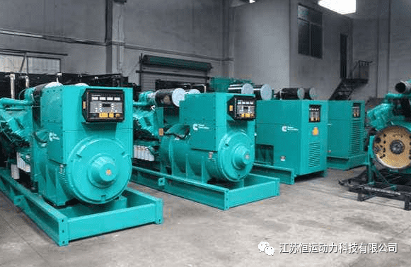 Replacement procedure of turbocharger for diesel generator