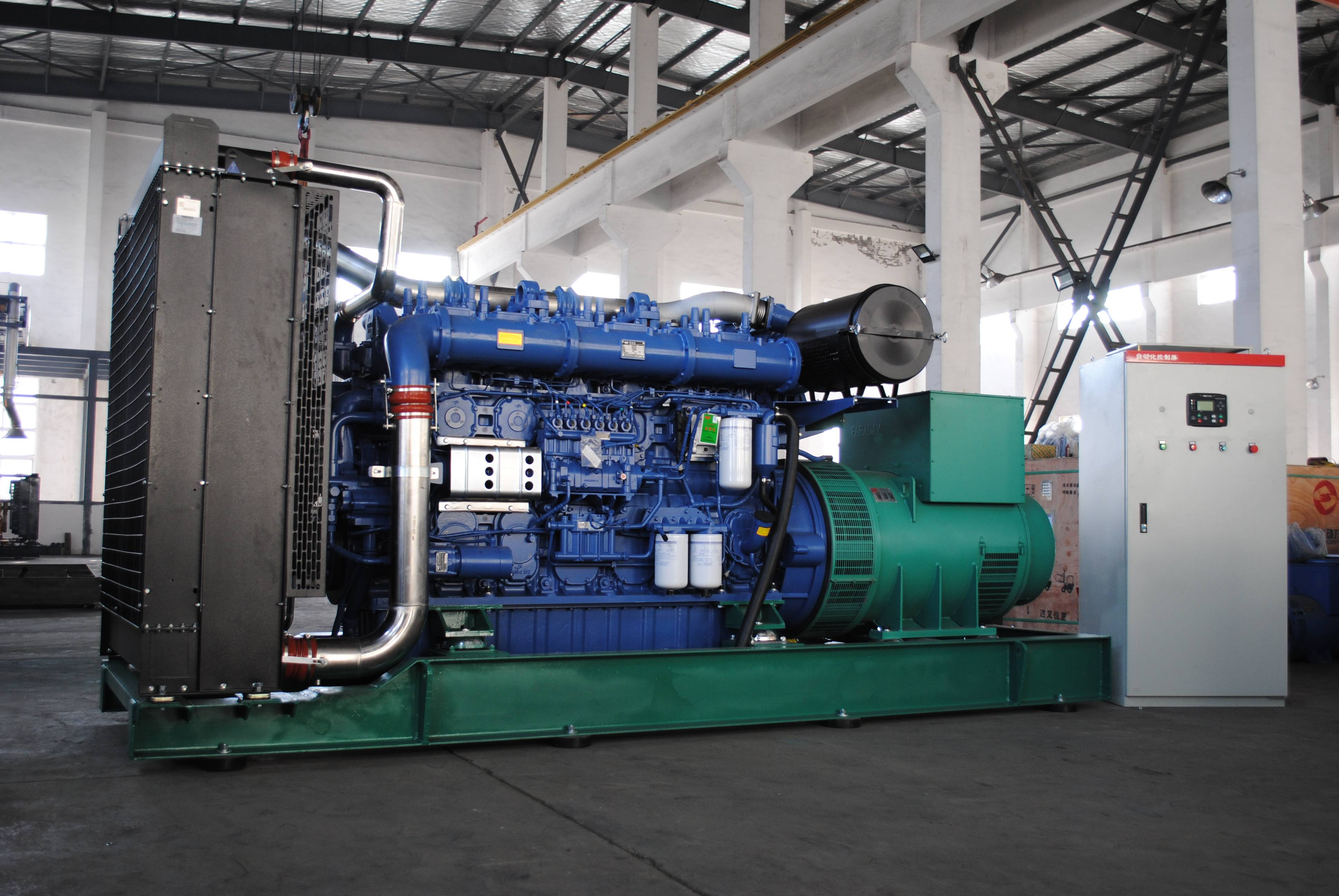 What are the technical requirements for daily fuel tank of diesel generator set?