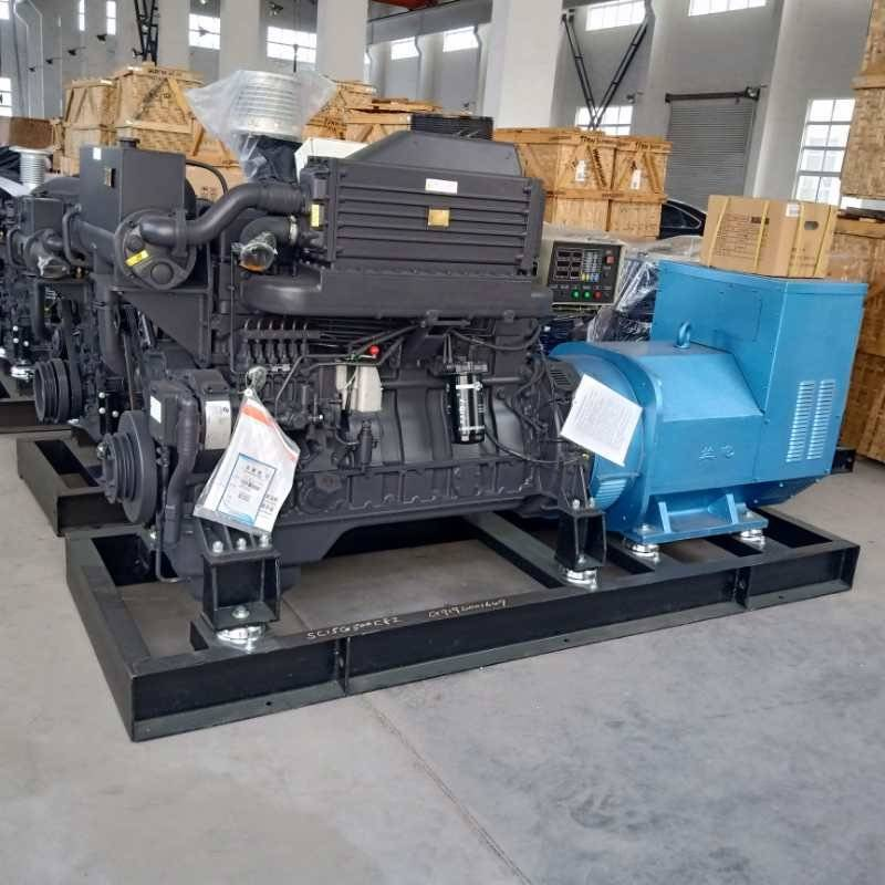 250KVA MARINE DIESEL GENERATORS WERE SENT TO SINGAPORE