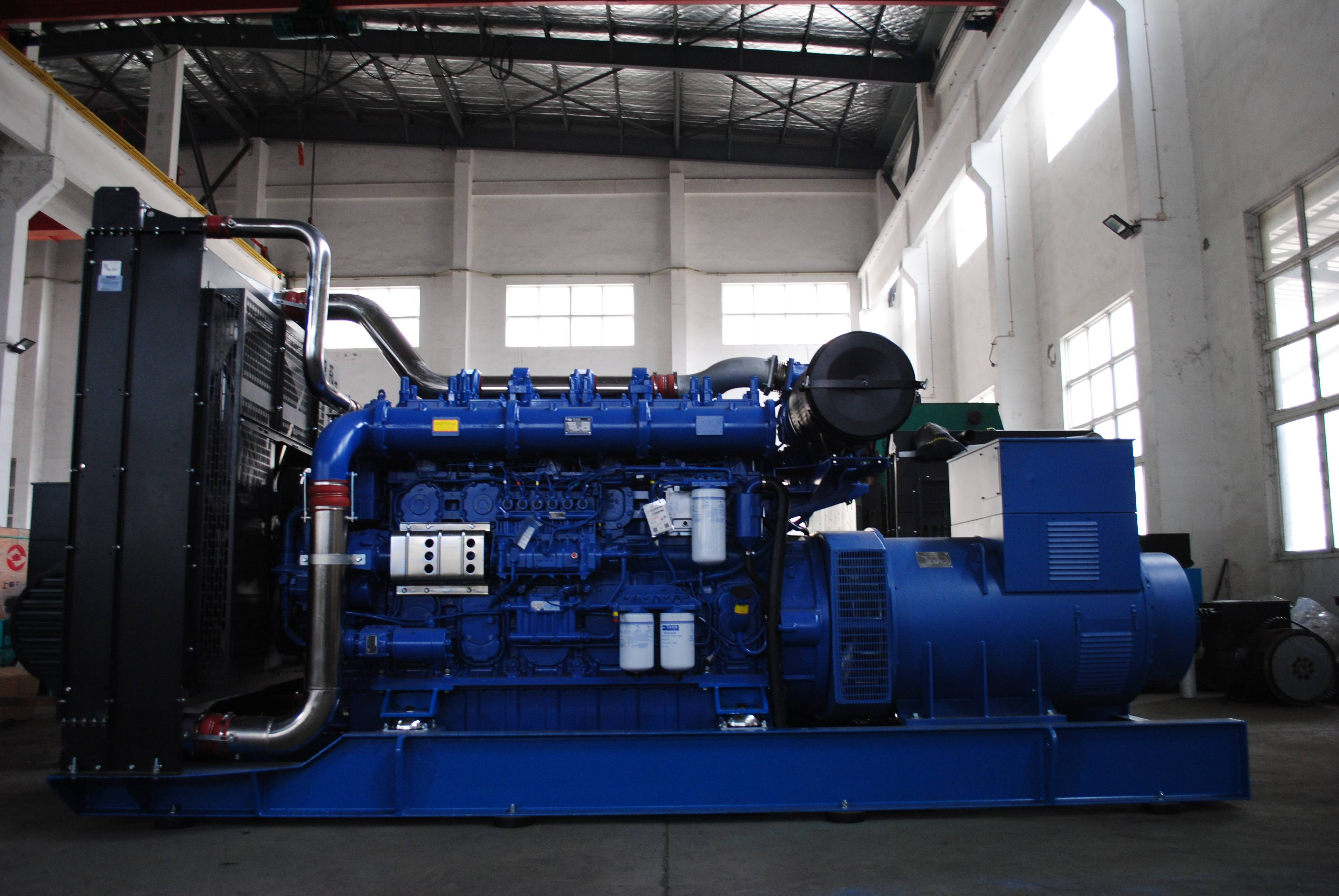 Impact of damage to cylinder pad of diesel generator set? ?