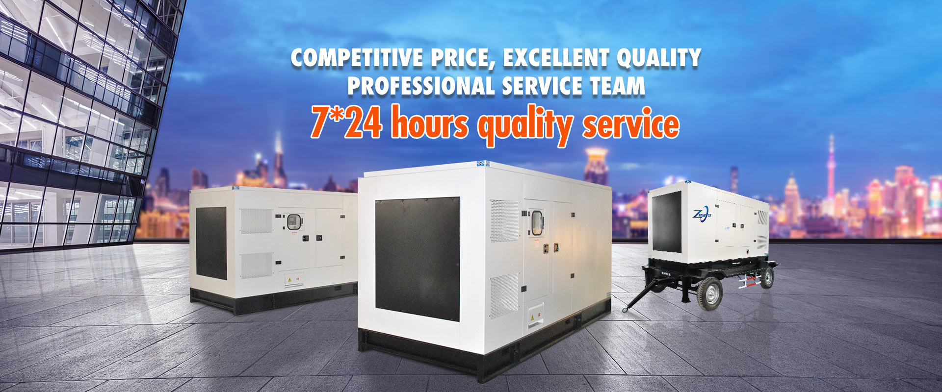 7*24 hours quality service