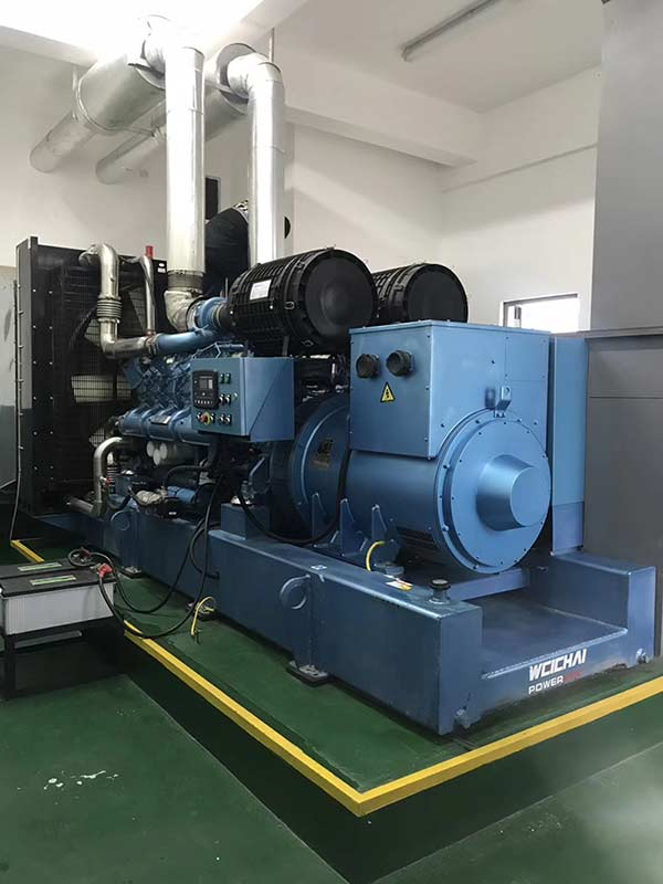 300KW diesel generators are exported to South Korea