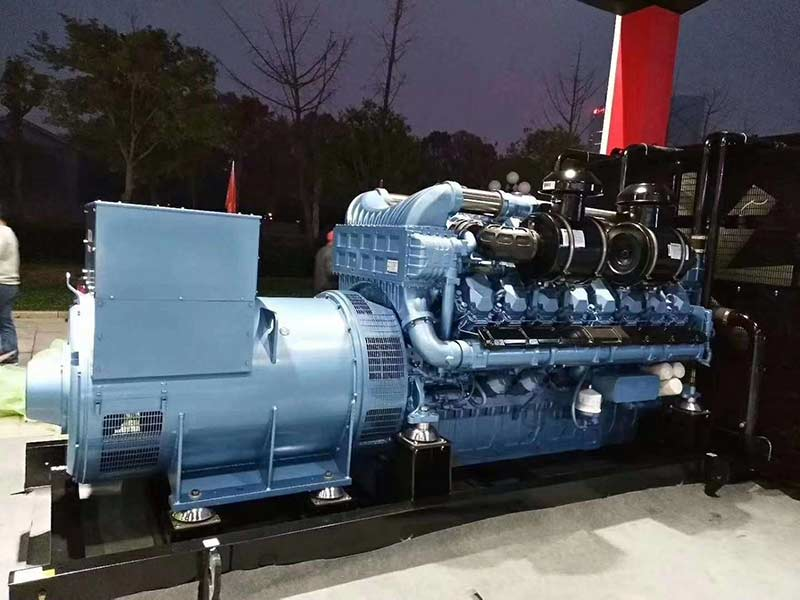 Singapore customer purchase 400KW diesel generator