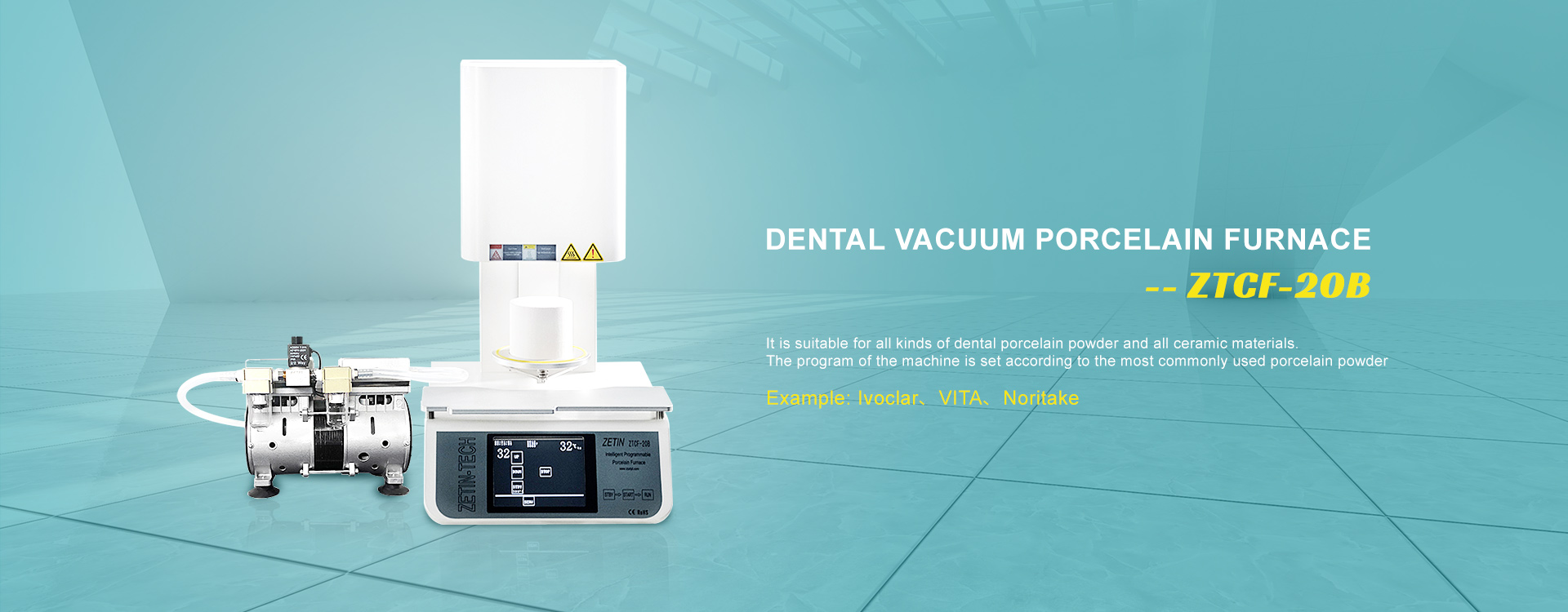 Vacuum Dental Porcelain Furnace