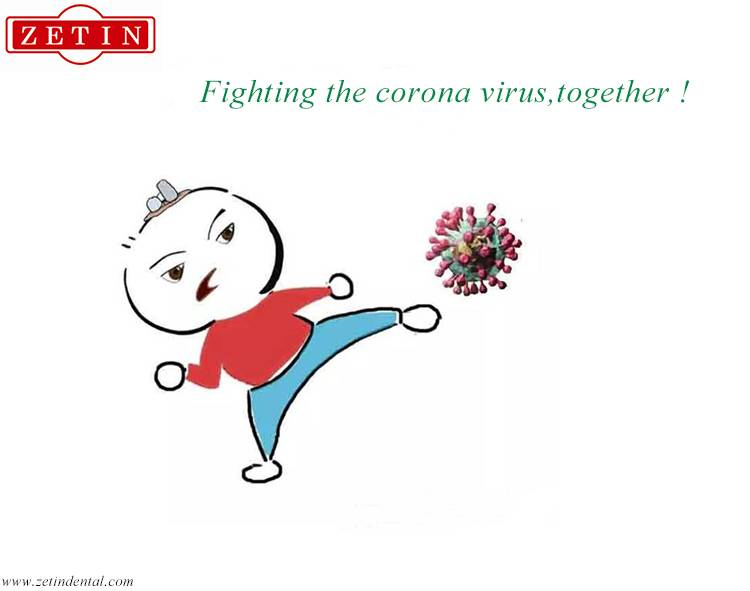 Against corona virus,together !