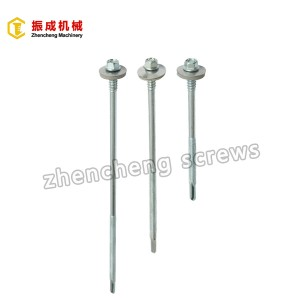 Hex Washer Head Self Tapping And Self Drilling Screw 1