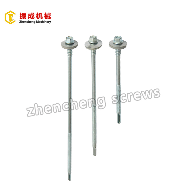 Factory directly supply Tek Screw With Wing - Hex Washer Head Self Tapping And Self Drilling Screw 1 – Zhencheng Machinery