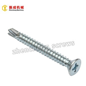 Philip Flat Head Self Tapping And Self Drilling Screw 6