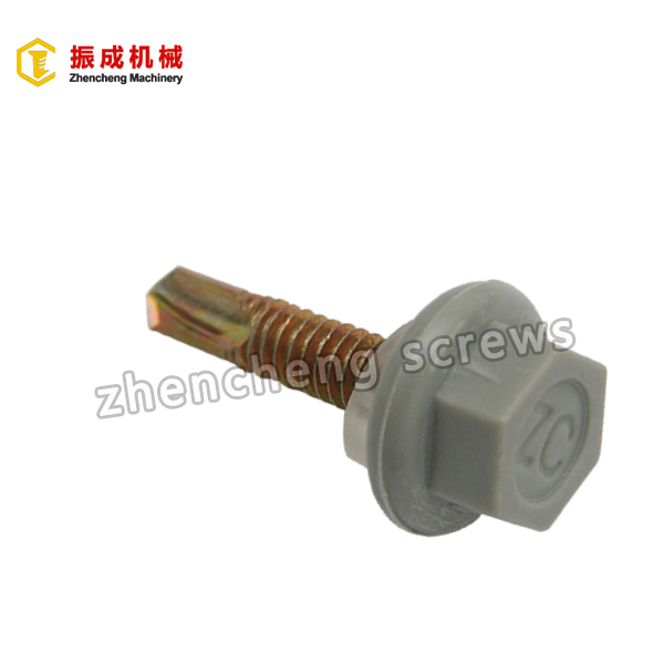 OEM/ODM Manufacturer M2 Titanium Screw -  Nylon Hex Washer Head Screw 1 – Zhencheng Machinery