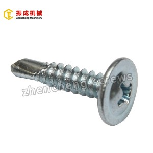 Wholesale Price Fasteners Screw - Philip Truss Head Self Tapping And Self Drilling Screw 5 – Zhencheng Machinery