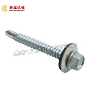 Hex Washer Head Self Tapping And Self Drilling Screw 4