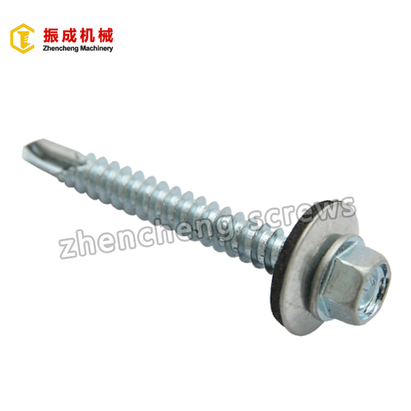 Cheap price Brass Inserts - Hex Washer Head Self Tapping And Self Drilling Screw 4 – Zhencheng Machinery