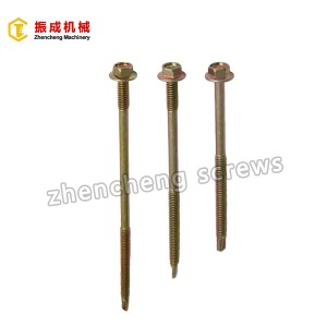 Hex Flange Head Self Tapping And Self Drilling Screw 3