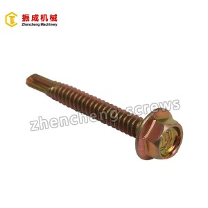 Chinese Professional Gypsum Drywall Screw Taiwan - Hex Flange Head Self Tapping And Self Drilling Screw 5 – Zhencheng Machinery