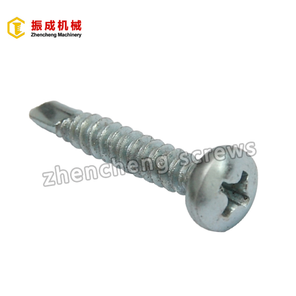 High Quality Countersunk Head Machine Screw - Philip Pan Head Self Tapping And Self Drilling Screw – Zhencheng Machinery