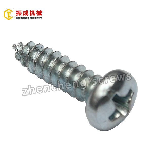 Short Lead Time for Slotted Pan Head Screw - Self Tapping Screw 3 – Zhencheng Machinery