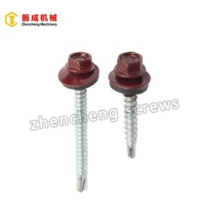 Leading Manufacturer for Wafer Head Drywall Screws - Hex Washer Head Self Tapping And Self Drilling Screw 2 – Zhencheng Machinery
