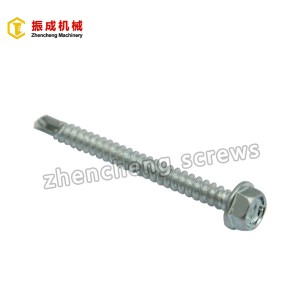 Hex Washer Head Self Tapping And Self Drilling Screw 3