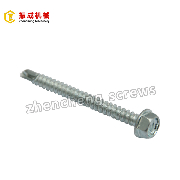 Factory Promotional Metric Thumb Screw - Hex Washer Head Self Tapping And Self Drilling Screw 3 – Zhencheng Machinery