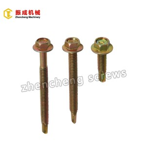 Hex Flange Head Self Tapping And Self Drilling Screw 2