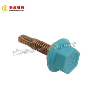 Lowest Price for Flat Torx Self Drilling Screw - Nylon Hex Washer Head Screw 3 – Zhencheng Machinery