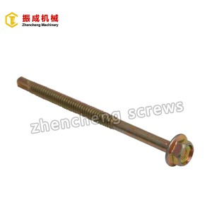 Best-Selling Gypsum Board Dscrew - Hex Flange Head Self Tapping And Self Drilling Screw 6 – Zhencheng Machinery