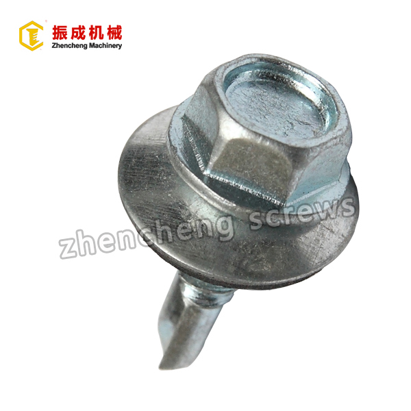 Short Lead Time for Binding Screws - Hex Washer Head Self Tapping And Self Drilling Screw 5 – Zhencheng Machinery