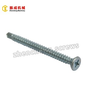 Philip Flat Head Self Tapping And Self Drilling Screw 9