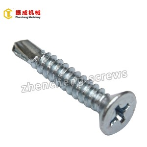 Philip Flat Serokê Self Tapping Û Self Drilling Screw 4