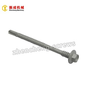 Hex Flange Head Self Tapping And Self Drilling Screw
