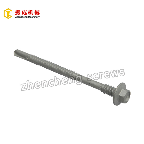 2017 China New Design Hexagon Head Screw With Epdm Washer - Hex Flange Head Self Tapping And Self Drilling Screw – Zhencheng Machinery