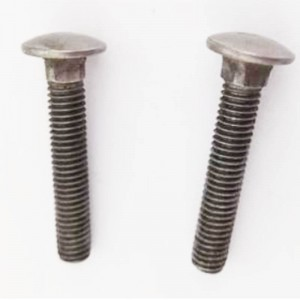 4.8 plain carriage bolt