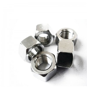 304 316 Stainless steel hex nut