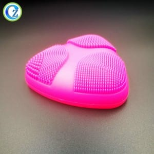 Eco-friendly FDA Cleansing Facial Brush Durable Silicone Facial Cleansing Brush