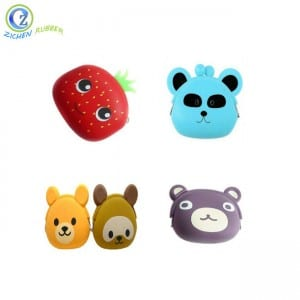 Waterproof Silicone Coin Purse High Quality Silicone Rubber Change Purse