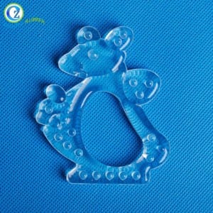 Colorful Silicone Baby Teether Custom High Quality Baby Teether Toy