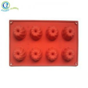 New Style Custom Made FDA Approved Silicone Cookie Cake Mold