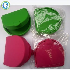 100% FDA Cute Silicone Wallet Popular New Fashion Silicone Wallet Purse