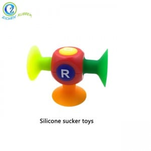 Funny Education Style Sucker Toy for Kids Sucker Suction Silicone Toys
