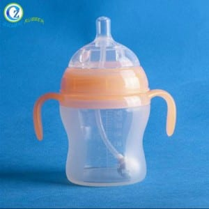Top Quality Baby Silicone Products Eco-friendly Silicone Baby Bottle For Feeding