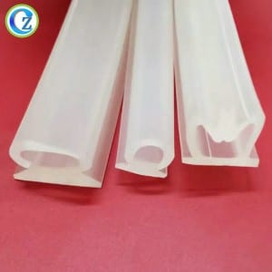 Different Types Deformed Silicone Hoses High Quality Rubber Tubing